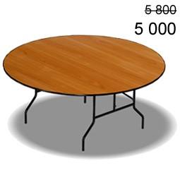 Банкетный стол S4-101 диаметр 1500мм